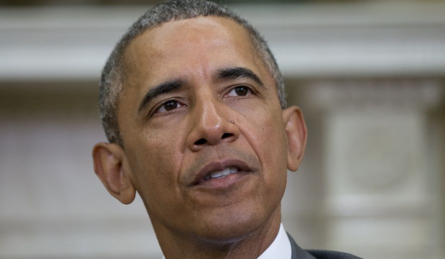 President Obama said he will not sign a nuclear agreement with Iran unless it's verifiable, and he tried to downplay concerns that Tehran would use its extra cash from the end of international sanctions to finance more terrorism. (Associated Press)