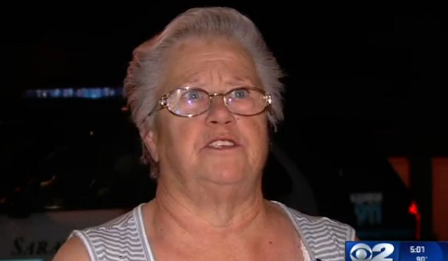 A suspect has been hospitalized in Utah after Frances Machm 69, punched him in the head several times when he forced himself into her car. (KUTV)