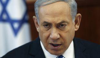 Israeli Prime Minister Benjamin Netanyahu. (Ronen Zvulun/Pool Photo via AP/file)