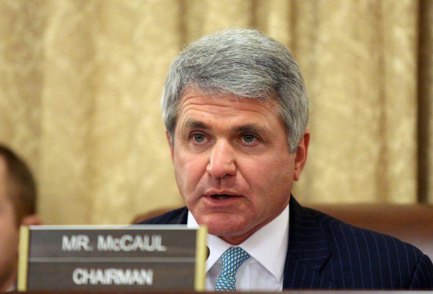 House Homeland Security Chairman Rep. Mike McCaul. (Associated Press) ** FILE **
