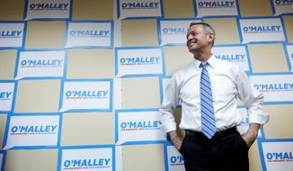 "Democratic presidential candidate Martin O'Malley said he would do ""everything in my power"" on behalf of immigrants. (Associated Press)"