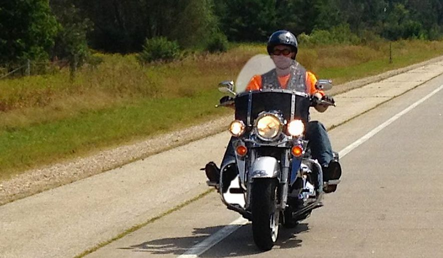 Gov. Scott Walker — shown here on his 2003 Harley Davidson Road King — has used his bike as a political tool on more than one occasion.