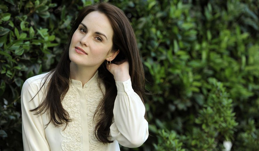 """FILE - This is a  July 31, 2011 photo of actress Michelle Dockery poses for a portrait in Beverly Hills, Calif.  Dockery stars in the TV series """"Downton Abbey.""""   Downton star Dockery is swapping one aristocratic world for another in a new production of """"Les Liaisons Dangereuses."""" Dockery is scheduled to appear alongside Dominic West and Janet McTeer in Christopher Hampton's play about nobles fighting a battle of sexual wiles in 18th-century France.(AP Photo/Chris Pizzello, File)"""
