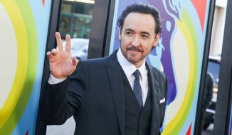 "John Cusack arrives at the LA Premiere Of ""Love & Mercy"" at the Samuel Goldwyn Theater on Tuesday, June 2, 2015, in Beverly Hills, Calif. (Photo by Rich Fury/Invision/AP)"