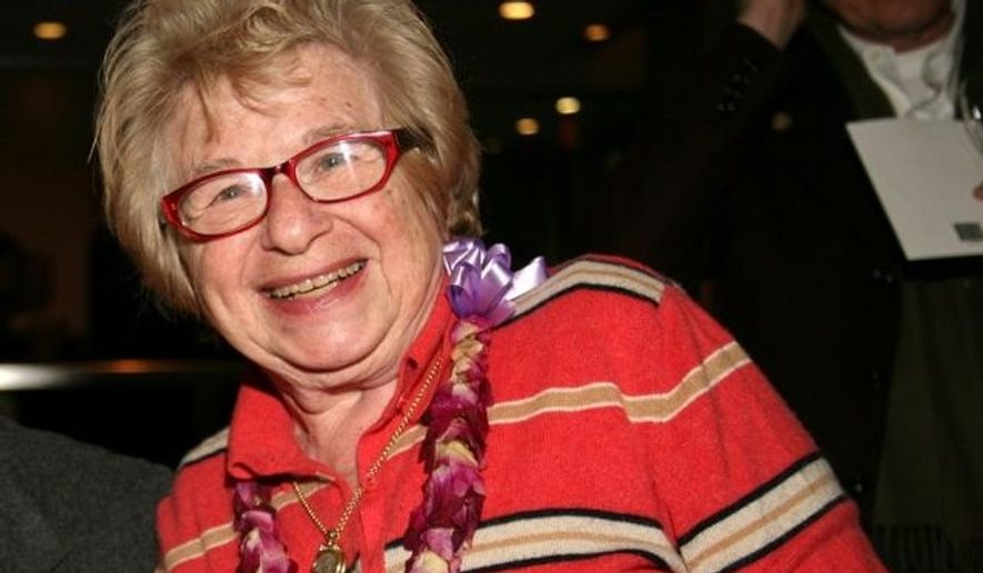 Longtime sex therapist and advice columnist Dr. Ruth Westheimer is facing backlash for comments she made Monday, after she suggested a woman can't change her mind about having sex with a man once she's naked in bed with him. (Wikimedia Commons)