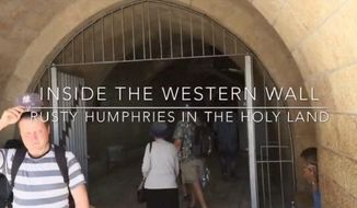 Rusty Humphries Inside The Western Wall