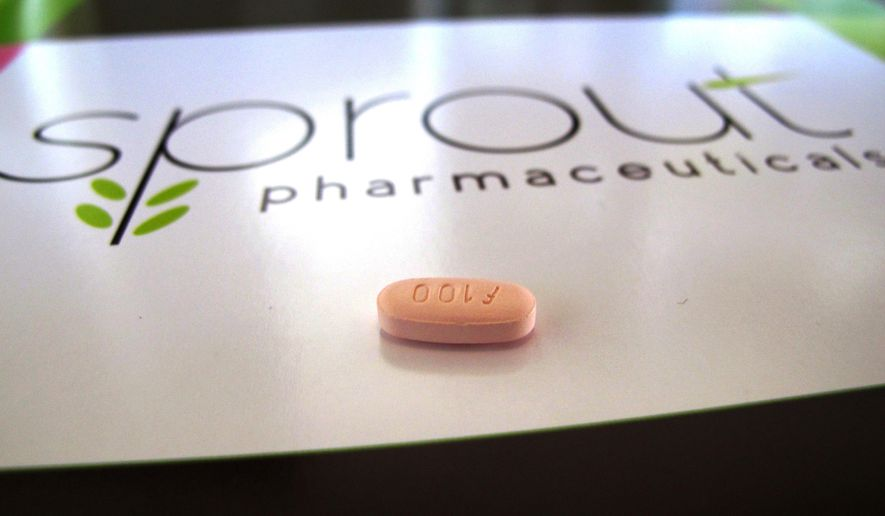 The panel of Food and Drug Administration advisers voted 18-6 in favor of Sprout Pharmaceutical's daily pill, flibanserin, on the condition that the company develops a plan to manage its risks. (Associated Press)