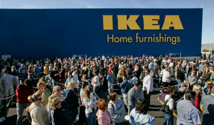 A new IKEA store opens in South Jordan, Utah, May 23, 2007. (Associated Press) ** FILE **