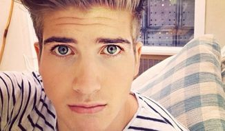 Joey Graceffa - Rusty Humphries podcast - image via Twitter