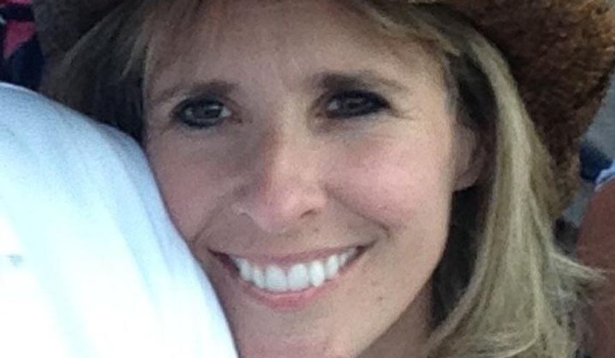 Tonya Carpenter is seen in an undated photo provided by the family of Tonya Carpenter. Carpenter, 44, of Paxton, Mass., who was hit by a broken bat at Fenway Park during a game between the Oakland Athletics and the Boston Red Sox on Friday night, remains in serious condition Sunday, June 7, 2015 at Beth Israel Deaconess Medical Center Hospital in Boston. Carpenter was struck in the head by Oakland player Brett Lawrie's bat as she sat near the field between home plate and the third base dugout. (the family of Tonya Carpenter via AP)