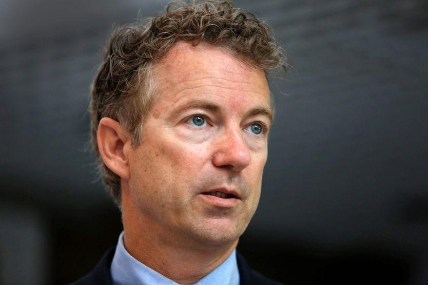 Sen. Rand Paul, Kentucky Republican (Associated Press)
