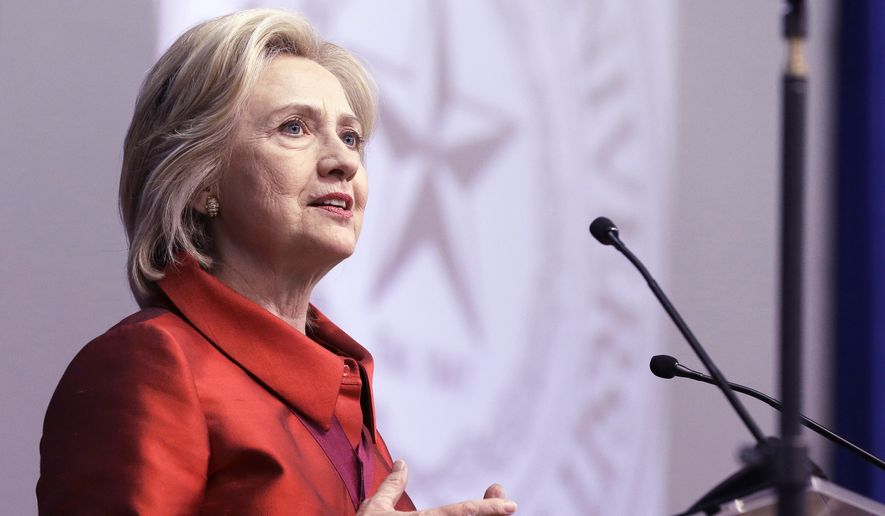 Hillary Rodham Clinton remains the all-but-inevitable Democratic nominee, with a huge lead in the polls and a massive advantage in the money race. (Associated Press)