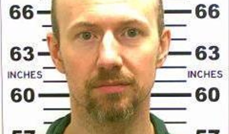 This May 21, 2015 photo released by the New York State Police shows David Sweat. On Saturday, June 6, 2015, authorities said 48-year-old Richard Matt and 34-year-old Sweat, both convicted murderers, escaped from the Clinton Correctional Facility in Dannemora, N.Y. (New York State Police via AP)