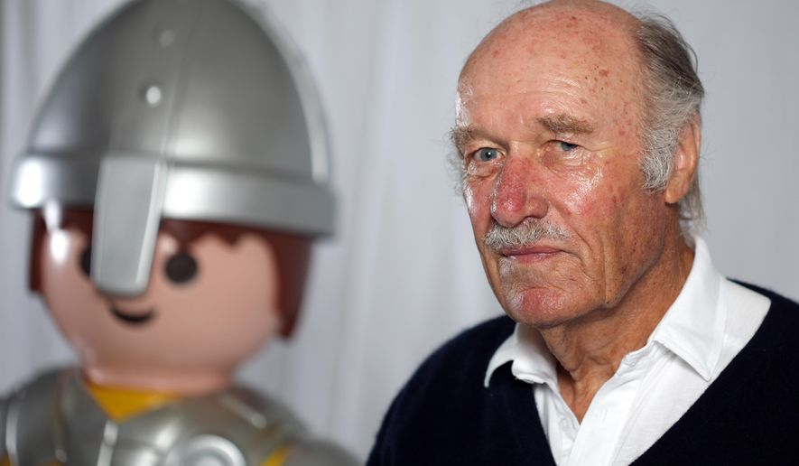 FILE - In this  Aug. 27, 2010 file picture  Horst Brandstaetter,  is photographed in Zirndorf, Germany. Horst Brandstaetter, who launched the popular Playmobil range of plastic toys in the 1970s, has died. He was  81. Playmobil  manufacturer Geobra Brandstaetter Stiftung, which Brandstaetter owned, said in a statement Monday June 8, 2015 that he died on June 3. It gave  no further details. ( Daniel Karmann/ dpa  via AP, file)