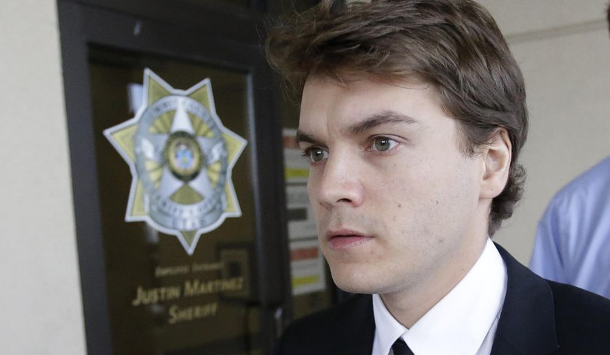 FILE - This March 16, 2015 file photo, actor Emile Hirsch leaves court, in Park City, Utah. Hirsch is scheduled to make another court appearance on Monday, June 8, on allegations that he put a studio executive in a chokehold while he was in town for the Sundance Film Festival. (AP Photo/Rick Bowmer, Pool,File)