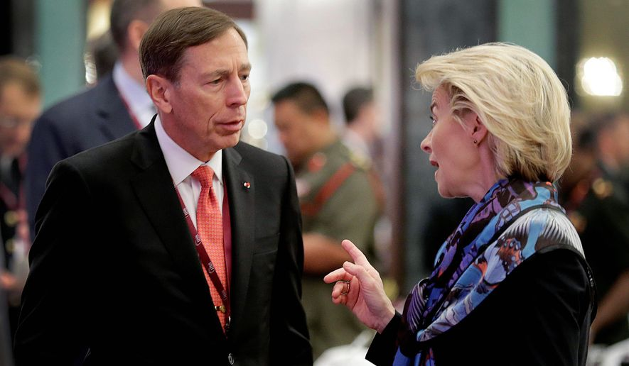 David Petraeus is among those representing America at the annual Bilderberg Conference, which gets underway in Austria on Thursday. (Associated Press)