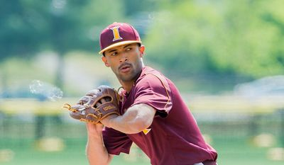 The Nationals drafted Iona College pitcher Mariano Rivera Jr. , son of former New York Yankees All-Star closer Mariano Rivera on Tuesday in the fourth round of the baseball draft. (Iona College Athletics)