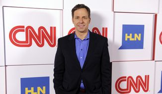 Jake Tapper of CNN poses at the CNN Worldwide All-Star Party in Pasadena, Calif., in this Jan. 10, 2014, file photo. (Photo by Chris Pizzello/Invision/AP, File)