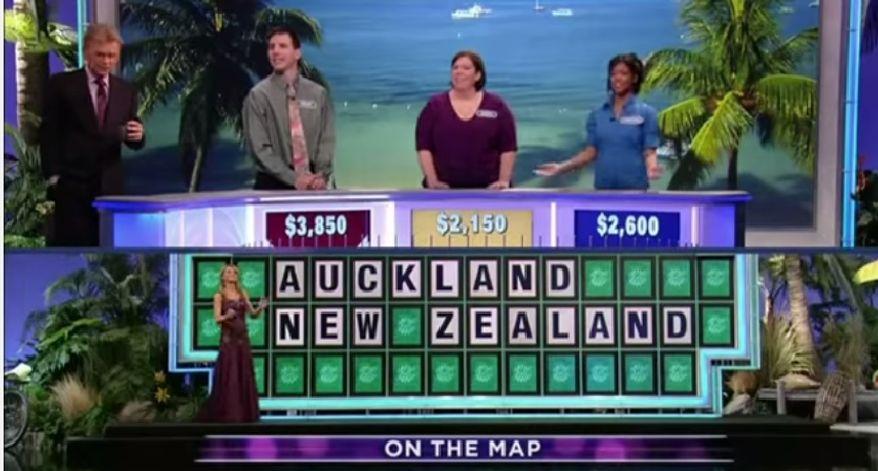 """Correct Answer: """"AUKLAND, NEW ZEALAND"""""""