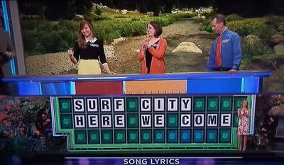 """Correct Answer: """"SURF CITY HERE WE COME"""""""