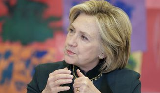 Analysts on political money have said the pattern of Hillary Rodham Clinton's intervention on behalf of donors to her husband's charity raise troubling ethical questions. (Associated Press)