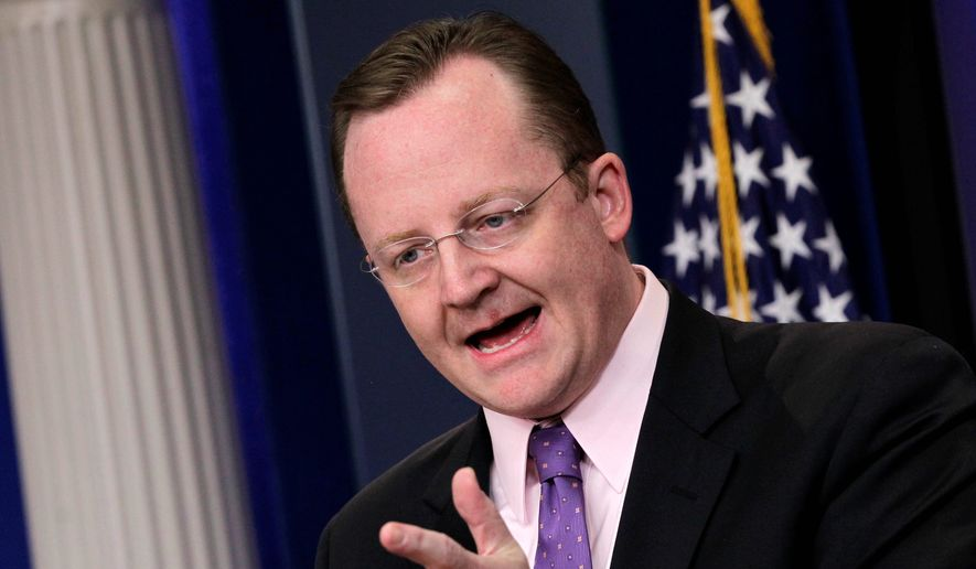 """Former White House press secretary Robert Gibbs is the latest of President Obama's aides to land a high-level corporate job. Mr. Gibbs was hired as """"global communications officer"""" for fast-food giant McDonald's Corp. (Associated Press)"""