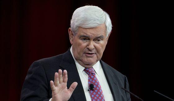 Former House Speaker Newt Gingrich (Associated Press/File)