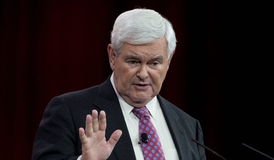 Former House Speaker Newt Gingrich (Associated Press/File)