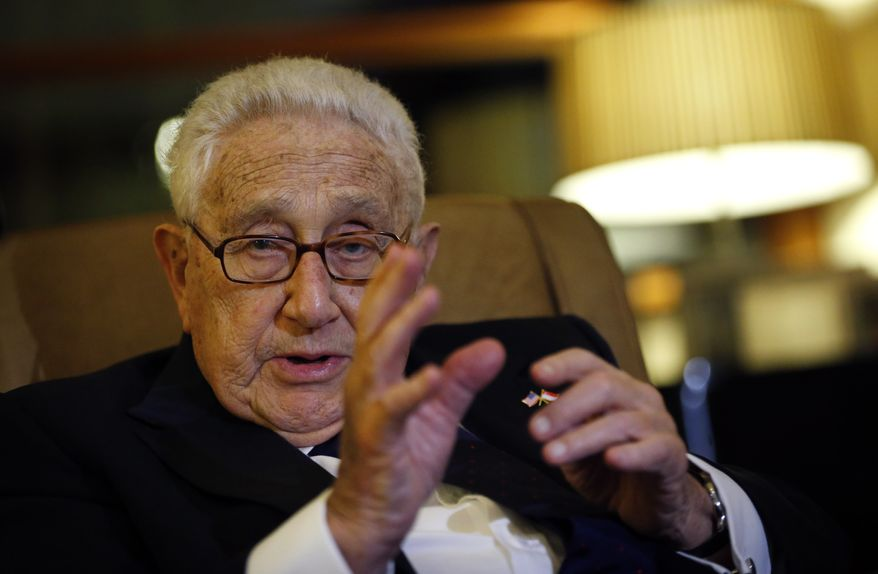 Former Secretary of State Henry Kissinger is among the reported attendees of the Bilderberg Group's annual three-day meeting at a resort in the Austrian Alps. (Associated Press)