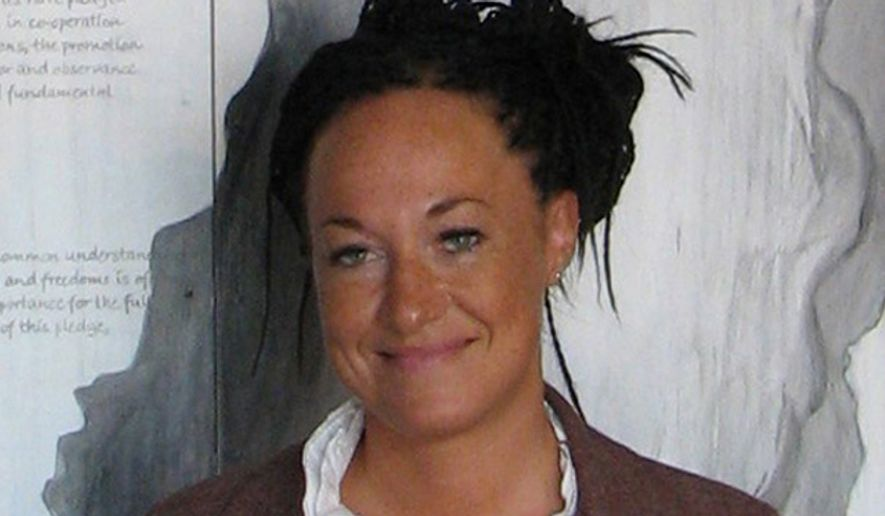 Rachel Dolezal was president of the Spokane chapter of the NAACP. (Associated Press) ** FILE **