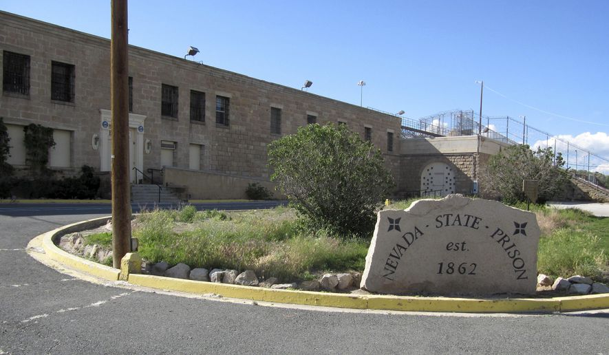 In this June 4, 2015, photo, the shuttered Nevada State Prison is seen in Carson City, Nev. A bill passed by the Nevada Legislature creates a pathway for the site to become a cultural attraction. (AP Photo/Michelle Rindels)