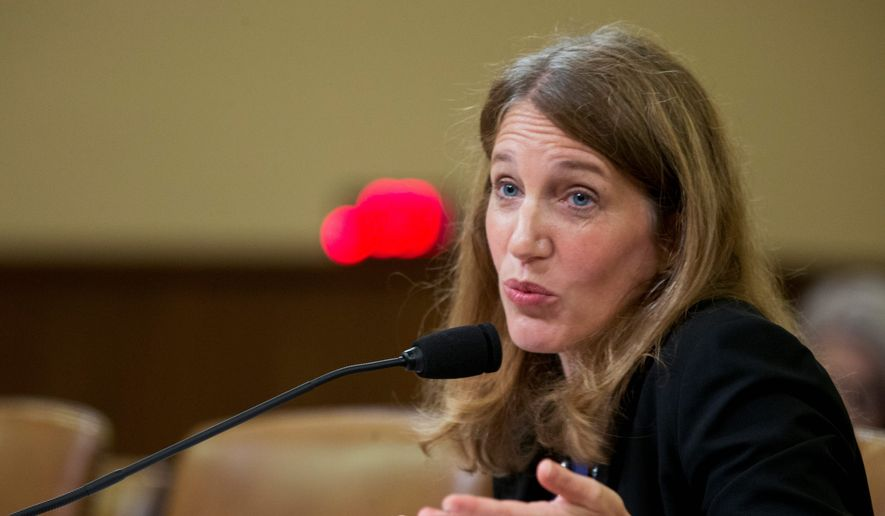 """I think it is the time to move on,"" Health and Human Services Secretary Sylvia Mathews Burwell told members of Enroll America, a nonprofit that drives customers into the Obamacare marketplace. (Associated Press)"