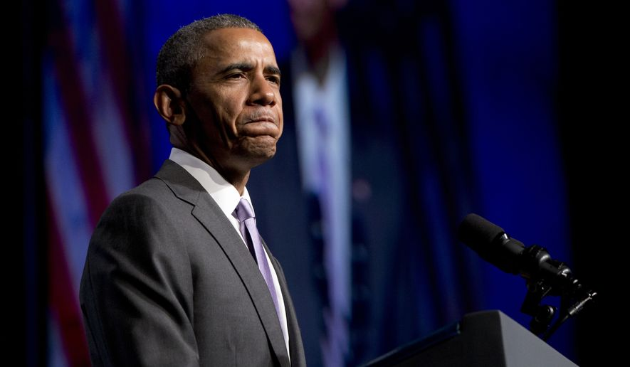 Besides trying to salvage the crucial trade deal, Mr. Obama is awaiting a decision by the Supreme Court that could unravel Obamacare, and he is racing against a June 30 deadline to reach a deal to curb Iran's nuclear weapons ambitions. (Associated Press)