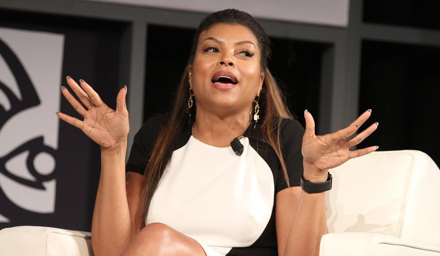 "FILE - In this June 12, 2015 file photo, actress Taraji P. Henson speaks at ""A Conversation with Taraji P. Henson"" during the American Black Film Festival at the Hilton Hotel in New York. Henson stars as Cookie Lyon in the popular Fox series, ""Empire."" (Photo by Donald Traill/Invision/AP, File)"