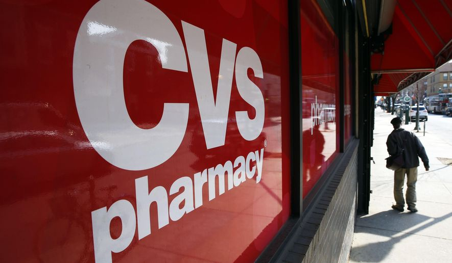 A CVS store in Philadelphia is seen here on March 25, 2014. (Associated Press) **FILE**