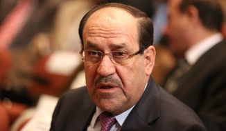 The Obama administration's posture is to avoid publicly criticizing Nouri al-Maliki's influence — mostly because he may re-emerge as the most powerful Shiite candidate when Iraqis return to the polls in 2018. Speaking out against Mr. al-Maliki may make future relations more difficult. (Associated Press)