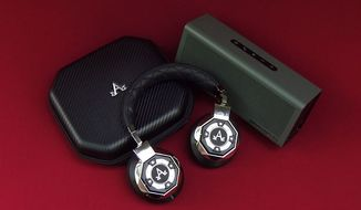 A-Audio's Icon Wireless headphones and Braven 805 Bluetooth speaker (Photo by Joseph Szadkowski / The Washington TImes)