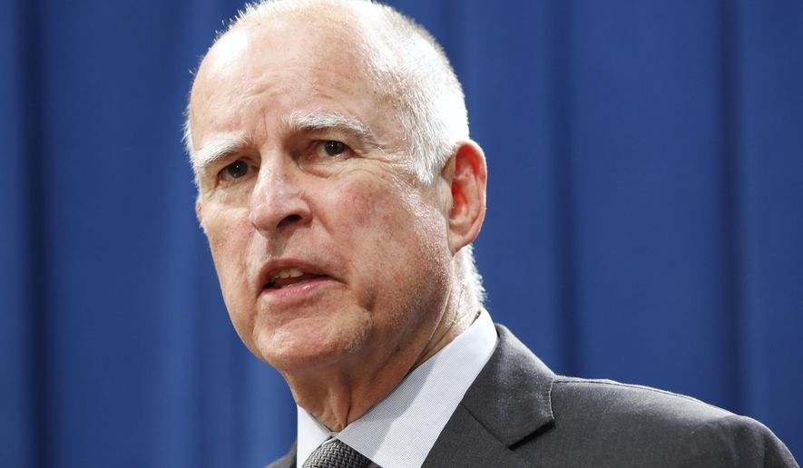 Calif., Gov. Jerry Brown  (AP Photo/Rich Pedroncelli)