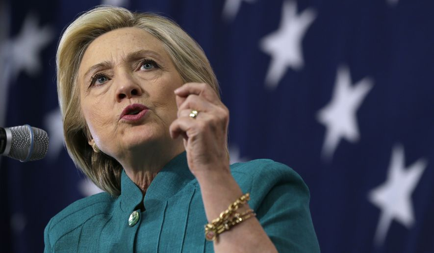 Hillary Rodham Clinton, who on Wednesday will make her second visit to South Carolina, moved early and forcefully to shore up support of black voters, but that Democratic bloc has yet to coalesce behind her. That includes young blacks who say they have lost faith in politics after their experience with President Obama. (Associated Press)
