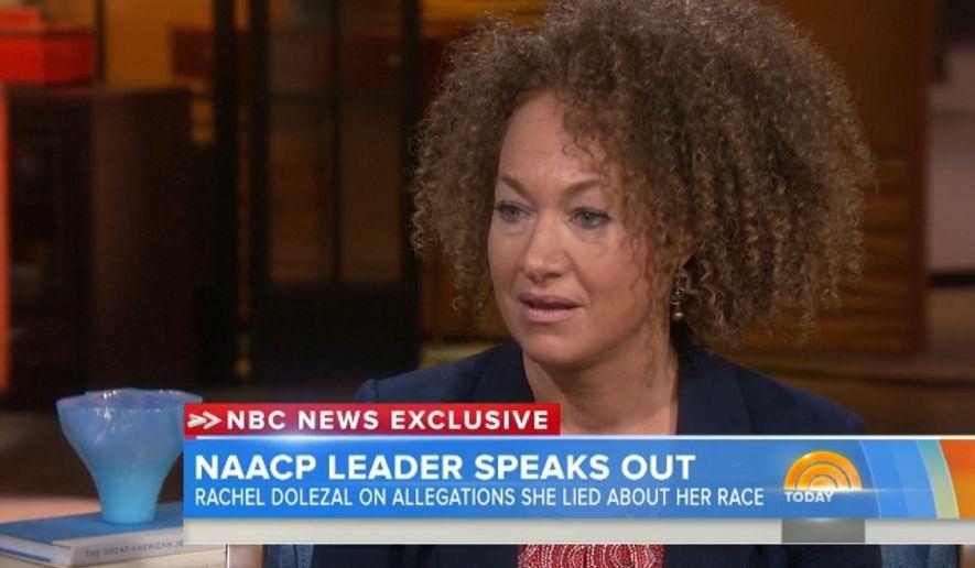 Rachel Dolezal. (Screen grab from Today.com's video)