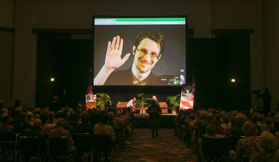 A congressional aide said the legislation is aimed to thwart U.S. spy agencies from giving secrets to an investigation of NSA activities by a German parliamentary committee. The panel was formed after spying disclosures from renegade NSA contractor Edward Snowden. (Associated Press)