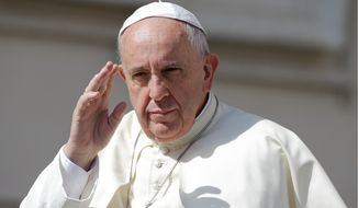 Pope Francis (Associated Press)
