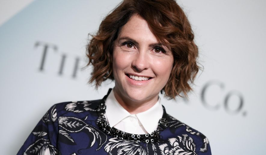 Jill Soloway arrives at the Women in Film 2015 Crystal And Lucy Awards at the Hyatt Regency Century Plaza on Tuesday, June 16, 2015 in Los Angeles. (Photo by Richard Shotwell/Invision/AP)