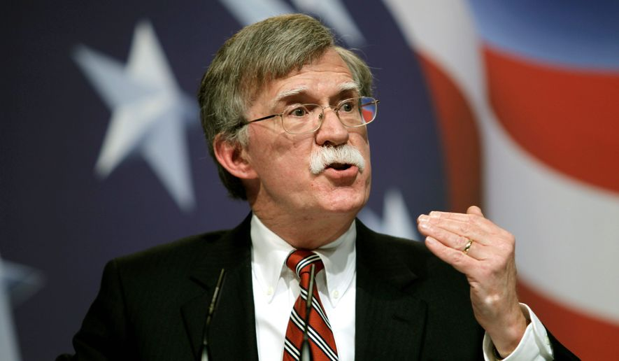 Former U.N. Ambassador John Bolton. (Associated Press)