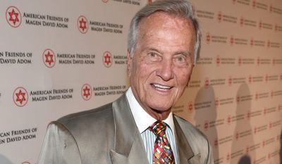 """Pat Boone says the nation needs to re-establish itself in the constitutional values for which the Founding Fathers fought. In fact, he titled his speech """"Call for a New American Revolution: A Manifesto."""" (Associated Press)"""