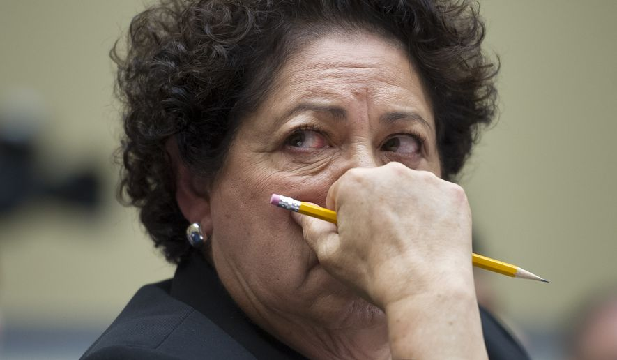 Former Office of Personnel Management Director Katherine Archuleta (Associated Press) **FILE**