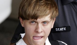 Dylann Storm Roof i (AP Photo)