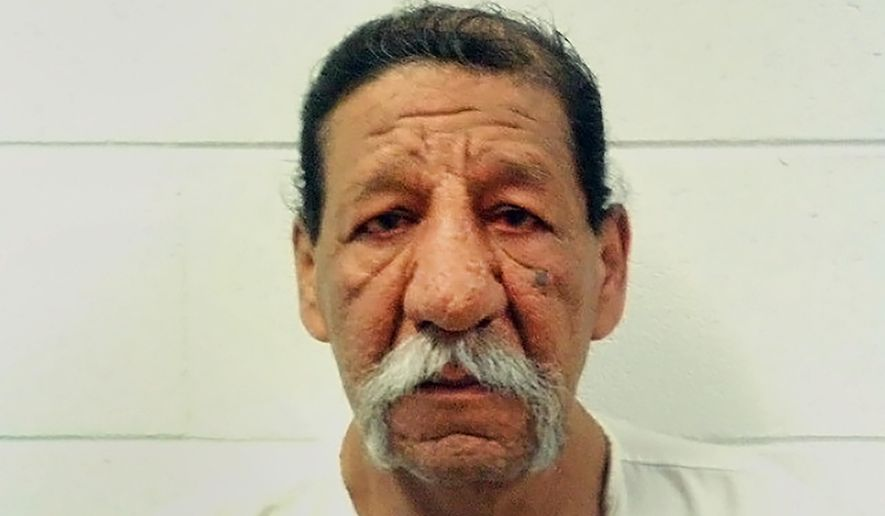 FILE - This image provided by the Utah Department of Corrections shows inmate Ramon C. Estrada. The son of Estrada, an inmate who died at the Utah state prison has sued corrections officials and health care providers, accusing them of violating his father's civil rights by failing to give him dialysis for two days. Estrada died April 19 after two dialysis technicians switched shifts and nobody showed up for his appointment. (Utah Department of Corrections via AP, File)