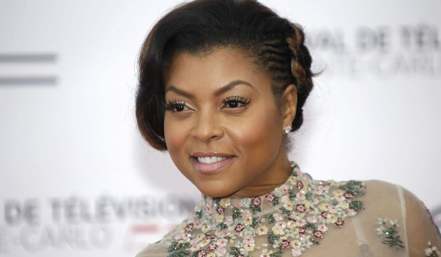 "FILE - In this Saturday, June 13, 2015 file photo, actress Taraji P. Henson poses during the opening ceremony of the 2015 Monte Carlo Television Festival in Monaco. A spokeswoman for the actress says she is suffering from exhaustion. Henson, the star of the Fox drama ""Empire,"" on Friday, June 19, 2015, posted a photo close-up of an IV connected to her arm. In a tweet, she offered reassurances that she will be fine.  (AP Photo/Lionel Cironneau, File)"