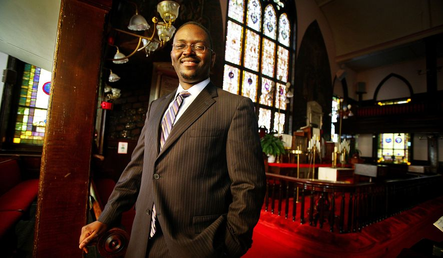 A Nov. 22, 2010 photo shows the Rev. Clementa Pinckney at Emanuel AME Church in Charleston, S.C. Pinckney, a Ridgeland Democrat and pastor at Mother Emanuel AME Church, died Wednesday, June 17, 2015, in the mass shooting at the church. (Grace Beahm/The Post and Courier via AP)